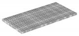 Industrie-Gitterrost 500x1000 mm 30/30 mm 30/2 mm