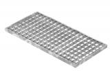 Lichtschachtrost Baunormrost 290x590x20 mm 30/30 mm