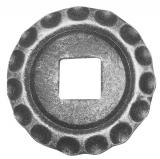 Rosette / Zierteil    Ø 75x5 mm   Stahl (Roh) S235JR