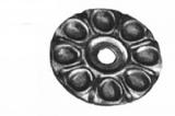 Rosette / Zierteil    Ø 60x2 mm   Stahl (Roh) S235JR