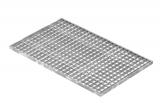 Lichtschachtrost Baunormrost 490x790x20 mm 30/30 mm
