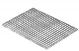 Lichtschachtrost Baunormrost 590x790x20 mm 30/30 mm
