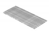 Lichtschachtrost Baunormrost 390x890x20 mm 30/30 mm