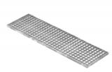 Lichtschachtrost Baunormrost 290x990x20 mm 30/30 mm