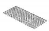 Lichtschachtrost Baunormrost 490x1090x20 mm 30/30 mm