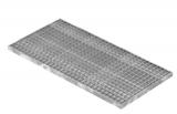Lichtschachtrost Baunormrost 490x990x30 mm 30/30 mm