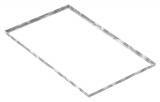 Zarge 600x1000x23 mm für Rosthöhe 20 mm