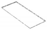 Zarge 500x1200x23 mm für Rosthöhe 20 mm