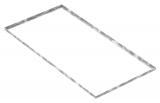 Zarge 600x1200x23 mm für Rosthöhe 20 mm