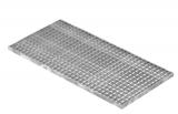 Lichtschachtrost Baunormrost 490x990x25 mm 30/30 mm