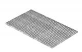 Lichtschachtrost Baunormrost 590x990x25 mm 30/30 mm