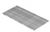 Lichtschachtrost Baunormrost 590x1190x25 mm 30/30 mm