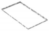 Zarge 500x900x28 mm für Rosthöhe 25 mm