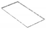 Zarge 600x1200x28 mm für Rosthöhe 25 mm