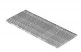Lichtschachtrost Baunormrost 490x1190x30 mm 30/30 mm