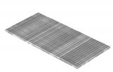 Lichtschachtrost Baunormrost 590x1190x25 mm 30/10 mm