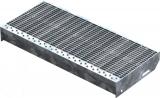 Gitterroststufe XSL 600x270 mm 30/10 mm