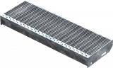 Gitterroststufe XSL 700x240 mm 30/10 mm