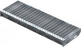 Gitterroststufe XSL 800x270 mm 30/10 mm