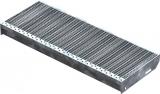 Gitterroststufe XSL 800x305 mm 30/10 mm