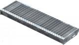Gitterroststufe XSL 900x270 mm 30/10 mm