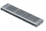 Gitterroststufe XSL 1000x240 mm 30/10 mm