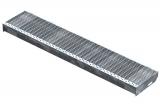 Gitterroststufe XSL 1200x240 mm 30/10 mm