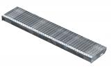 Gitterroststufe XSL 1300x270 mm 30/10 mm