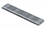 Gitterroststufe XSL 1400x270 mm 30/10 mm