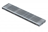 Gitterroststufe XSL 1400x305 mm 30/10 mm