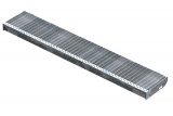 Gitterroststufe XSL 1500x270 mm 30/10 mm