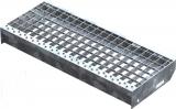 Gitterroststufe XSL 600x240 mm 30/30 mm