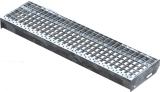 Gitterroststufe XSL 900x240 mm 30/30 mm