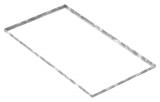Zarge 600x1100x23 mm für Rosthöhe 20 mm