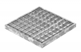Garagen-Gitterrost 290x290x25 mm 30/30 mm