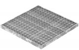 Garagen-Gitterrost 490x490x30 mm 30/30 mm