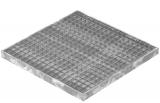 Garagen-Gitterrost 590x590x40 mm 30/30 mm