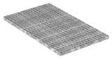 Industrie-Gitterrost 1000x600 mm 30/30 mm 30/2 mm