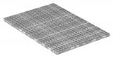Industrie-Gitterrost 1000x700 mm 30/30 mm 30/2 mm