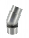 Gelenkstück V2A für Rundrohr Ø 33,7 x 2,0 mm