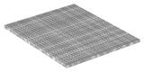 Industrie-Gitterrost 1200x1000 mm 30/30 mm 30/3 mm