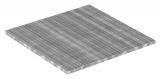Industrie-Gitterrost 1000x1000 mm 30/10 mm 30/2 mm