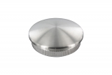 Stopfen leicht gewölbt V2A Vollmaterial für Ø 16,0x2,0 mm