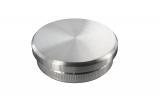 Stopfen flach V2A Vollmaterial für Ø 60,3x2,6 mm