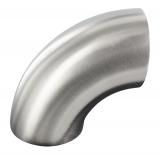 Bogen V4A 90° für Rundrohr Ø 42,4 mm zum Anschweißen