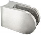 Glasklemme 63x45x30 mm V2A Modell 23 für Ø 48,3 mm