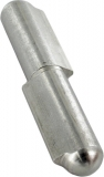 Anschweißband V2A 60 mm mit festem Stift