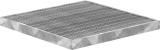 Garagen-Gitterrost 490x490x30 mm 30/10 mm