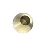 Messingvollkugel Ø 25 mm mit Sackloch 12,8 mm