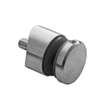 Glas-Punkthalter Ø 30 mm V2A für Anschluss Ø 42,4 mm